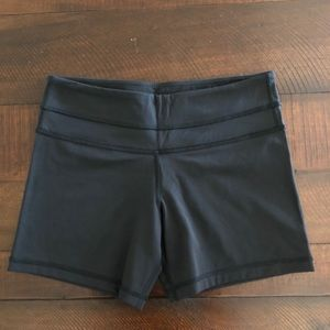 lululemon athletica Shorts - Lululemon Black Biker Shorts